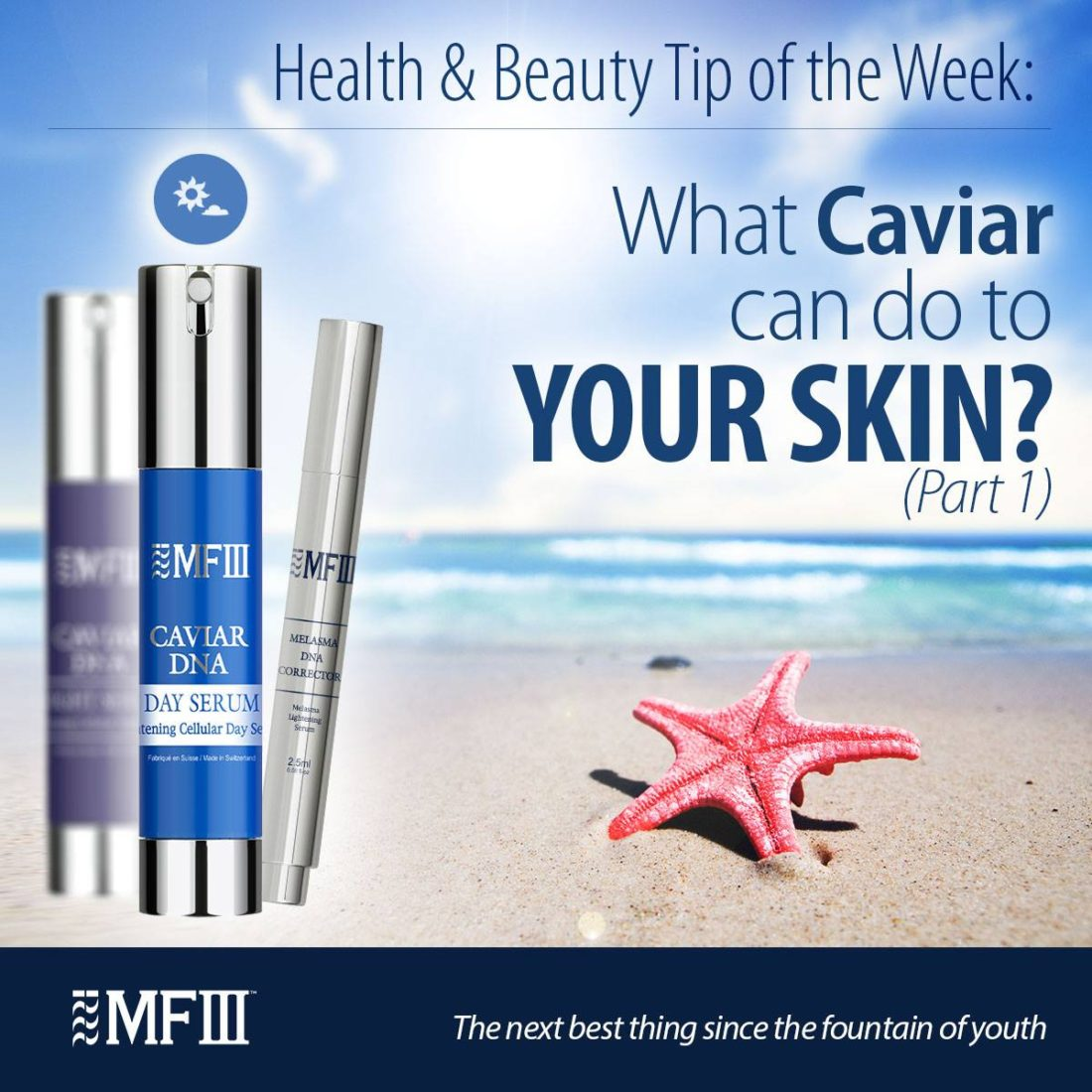 What Caviar can do to your skin?